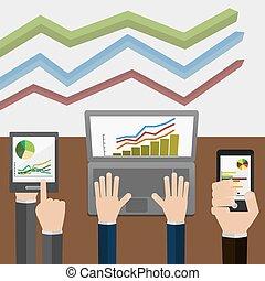Indicadores y estadísticas, que se muestran