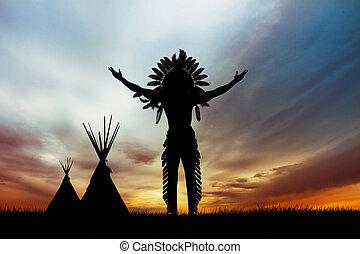 indio nativo, norteamericano