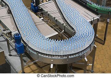 Industria del transportador de botellas de agua