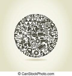 Industria una esfera