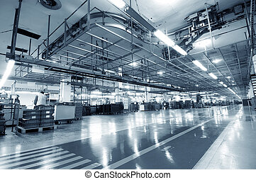 industrial, espacio