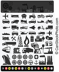 industrial, icons3