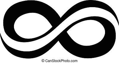 infinito, lazo, símbolo