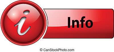 Info icono, botón