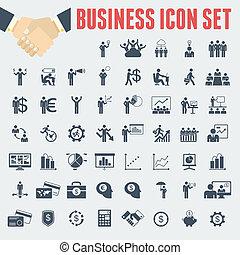 infographic, template., empresa / negocio