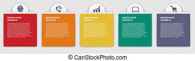INFOGRAPHICS diseño elementos vector de ilustración