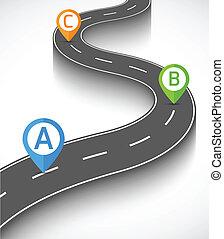Información de carretera