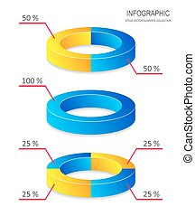 Información de gráficos de vectores creativos