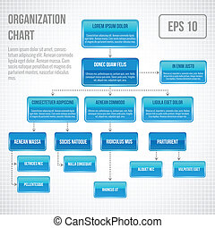 Información de gráficos organizados