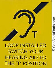información, oído, público, lazo, señal