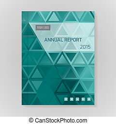 informe anual, cubierta, ilustración