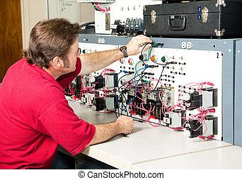 Ingeniería eléctrica, control de motores