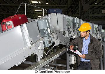Ingeniero de manejo del equipaje