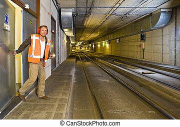 Ingeniero del túnel