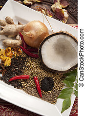 ingredientes de comida india