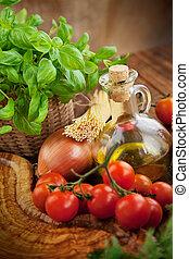 ingredientes frescos