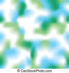 Inmaculado verde y azul vector de fondo.