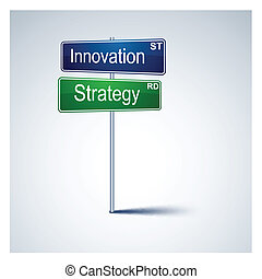 Innovación de la estrategia de dirección.