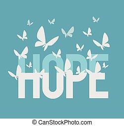 Inscripción de esperanza