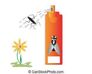 Insecticidas insectos y repelentes