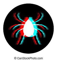 Insecto icono visual