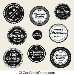 insignias de primera calidad