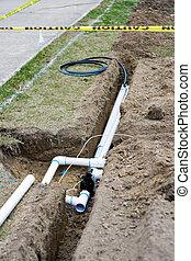 Instalación del sistema de riego