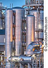 Instalación química