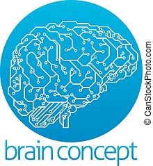 inteligencia, diseño, artificial
