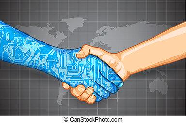 Interacción de tecnología humana