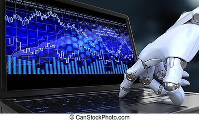 Intercambio robot
