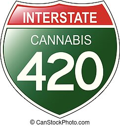 Interestatal 420, estado de cannabis