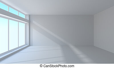 Interior blanco
