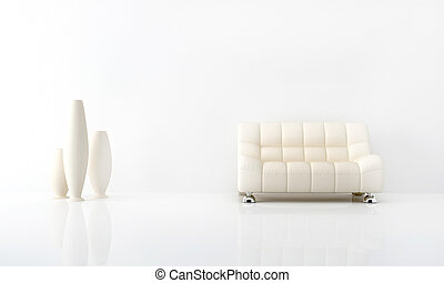 interior, blanco