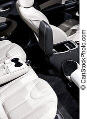 Interior de auto - asientos