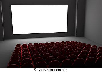 Interior de cine
