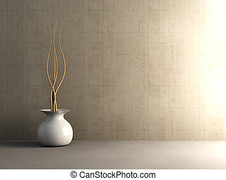 Interior de concreto