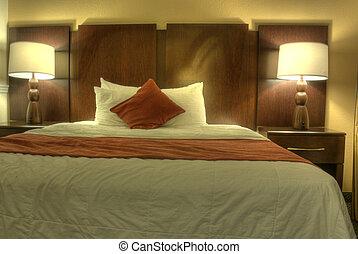 Interior de la habitación del hotel