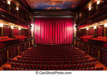 Interior de teatro