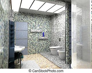 Interior del baño