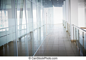 interior, edificio, oficina