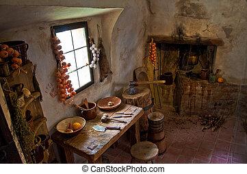 Interior medieval
