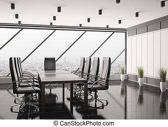 Interior moderno 3D