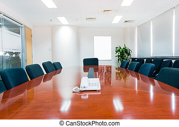 interior, sala juntas, moderno, oficina