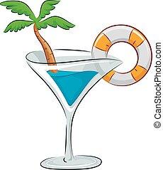 interrupción, primavera, aderezo, bebida, fiesta