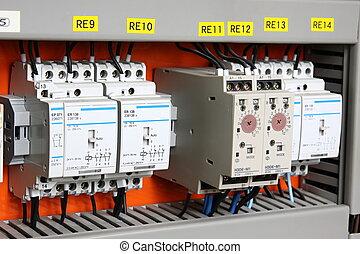 Interruptor automático de electricidad