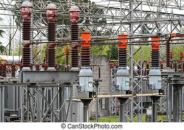 Interruptor de aislamiento de la central eléctrica