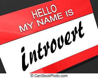 introvert., mi, hola, nombre