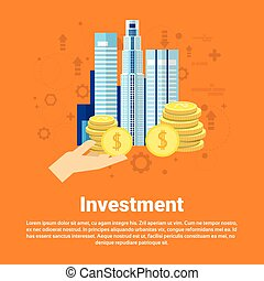 Inversiones inversoras de negocios en internet