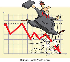 Inversor de bolsa infeliz